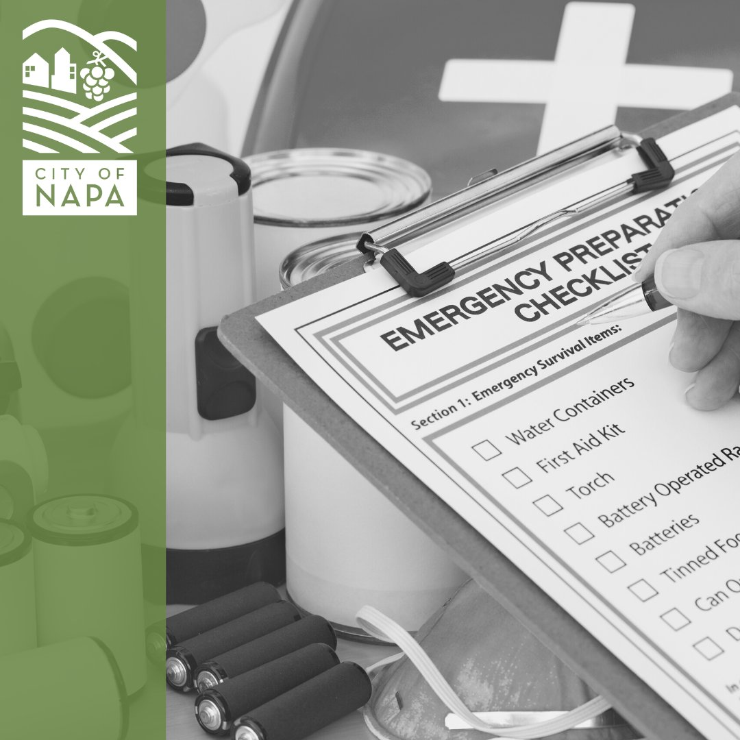 Make sure your emergency supply kit is updated  in case of an evacuation.   Your emergency supply kit should be light enough to lift into your car. Visit  for an Emergency  Kit Checklist from @CalFire   For more information, visit .
