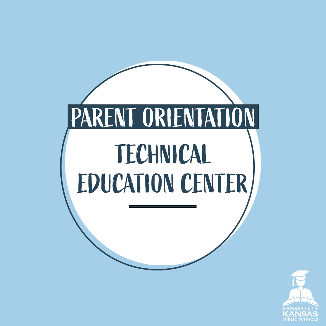 Is your student enrolled in the Technical Education Center? Tune into a virtual orientation tomorrow at 6 pm to learn more about the program. #kckpsontrack   Join here: