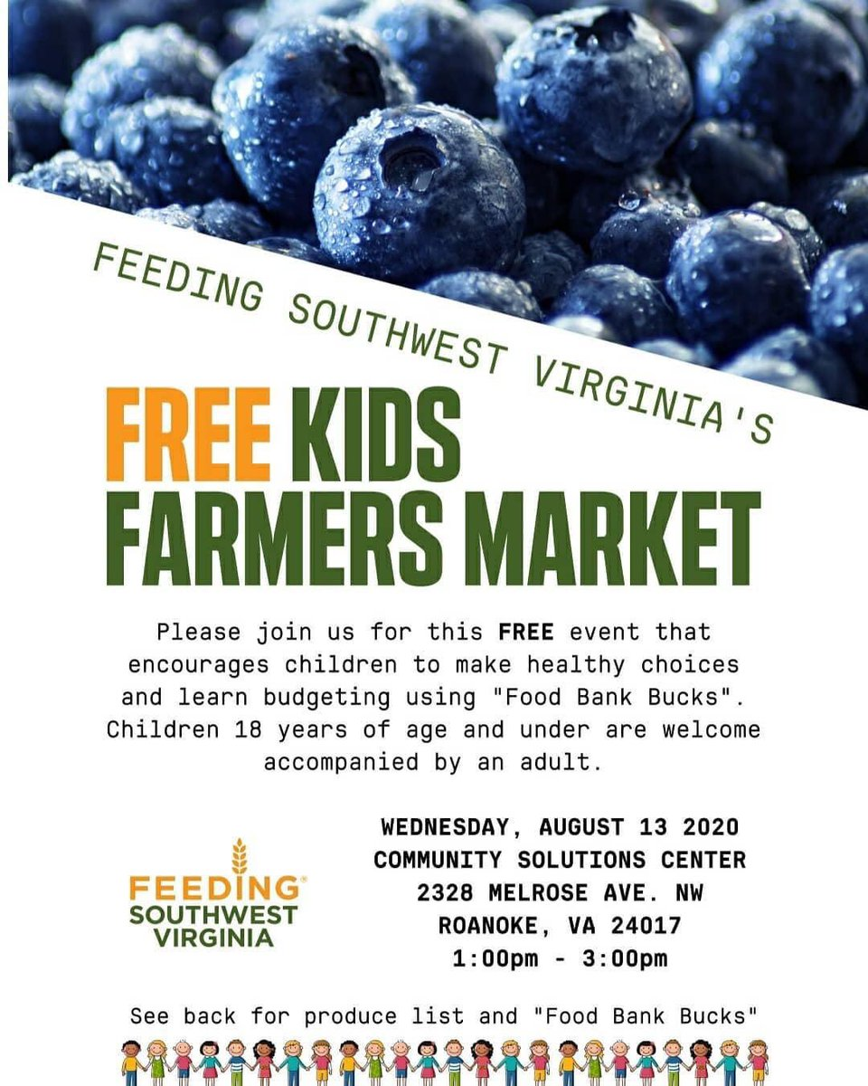 The Community Solutions Center serves as a location for community members to gather & address issues of importance to them and work toward solutions. It also provides fresh food for the community! Visit the FREE Kids Farmers Market this Wed! @FeedingSWVA @NationalCivic #2020AAC
