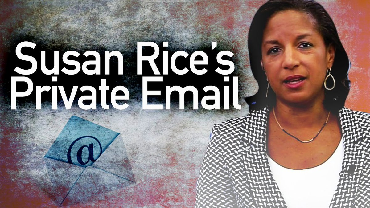 """Susan Rice didn't recall much about the Obama admin's response to #Benghazi. Similarly, Hillary couldn't recall much in her written sworn responses – which is one reason why a fed court judge ordered her in-person deposition testimony,"" @TomFitton. Read:"
