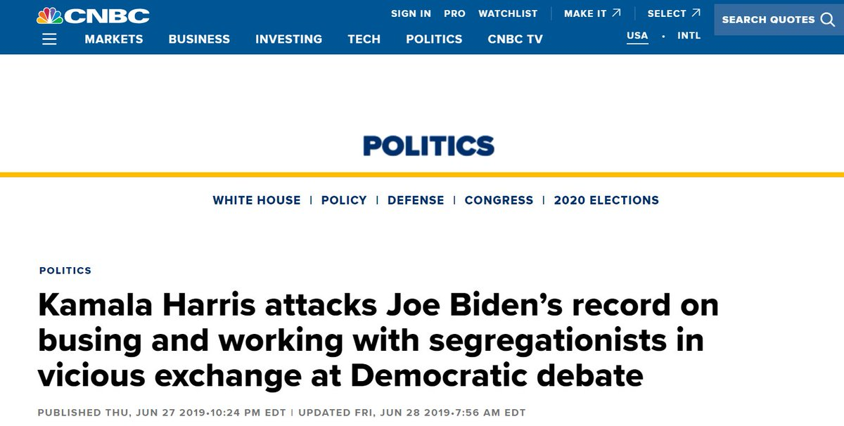 There's a good chance that Joe Biden forgot about this and no one bothered to remind him.