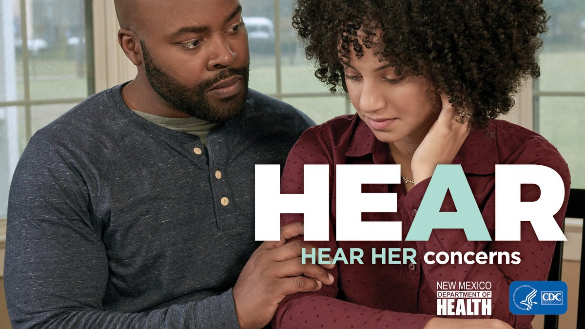 700 women die every year in the United States from pregnancy-related complications. Learn the urgent maternal warning signs. You could save her life. #HearHer