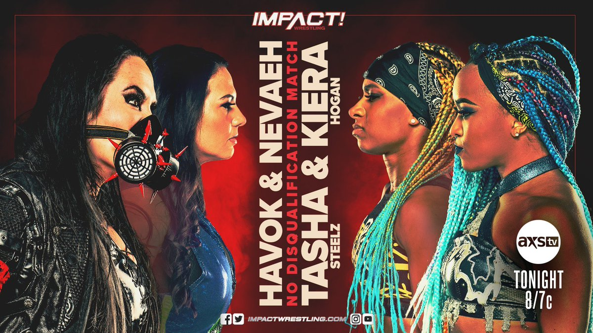 No DQ!!! I love when the rules are tossed out the window. Always my fave.  KNOCKOUT TIME. Again!!!! 💪🏼💪🏼💪🏼 #IMPACTonAXSTV