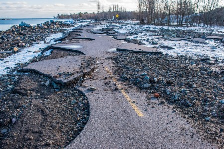 High water impacts continue across #Michigan:  #MiEnvironment #HighWater