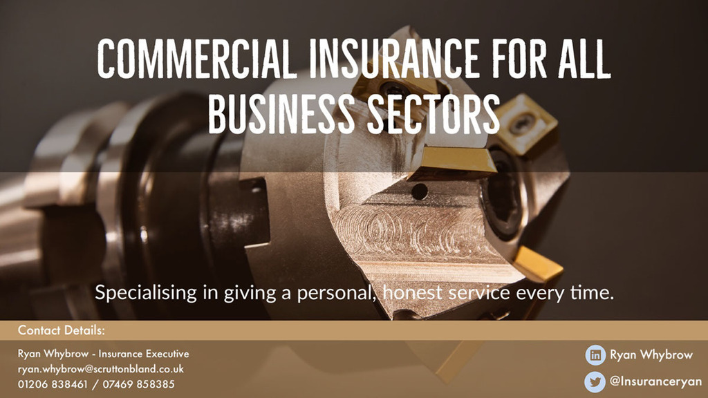 #Commercial #Insurance #Renewal due? Why not call me today? | #first class service as standard | contact me today for a free #quote - Email me or call 01206 838461 / 07469 858385 #essex #suffolk #norfolk #cambridge #kent #hertford #bedford