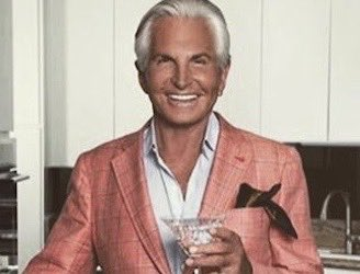 Good morning and happy birthday to George Hamilton, born today in 1939 in Memphis.  He's proven, for years, that a smile and a tan can take you a long way in life...