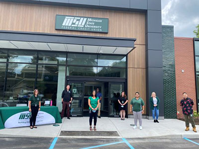 Congrats to Lansing Chamber member @msufcu on the opening of their 21st branch in Holt! 🎉 21 looks good on you! 😊