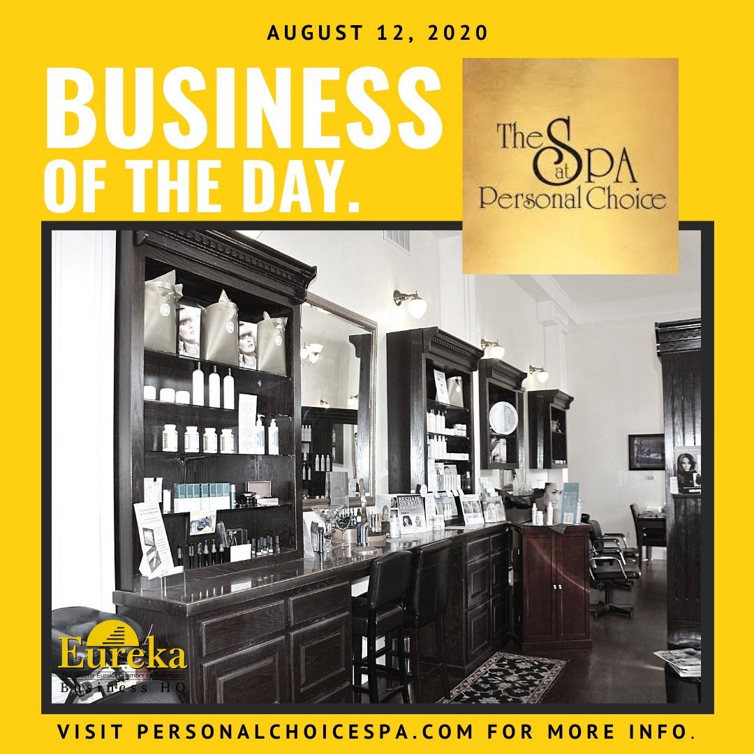Happy #WellnessWednesday! Need some post quarantine rejuvenation? Then you've got to check out our #businessoftheday The Spa at Personal Choice! Your skin, hair, and body will thank you 🧡#personalchoicespa MORE:
