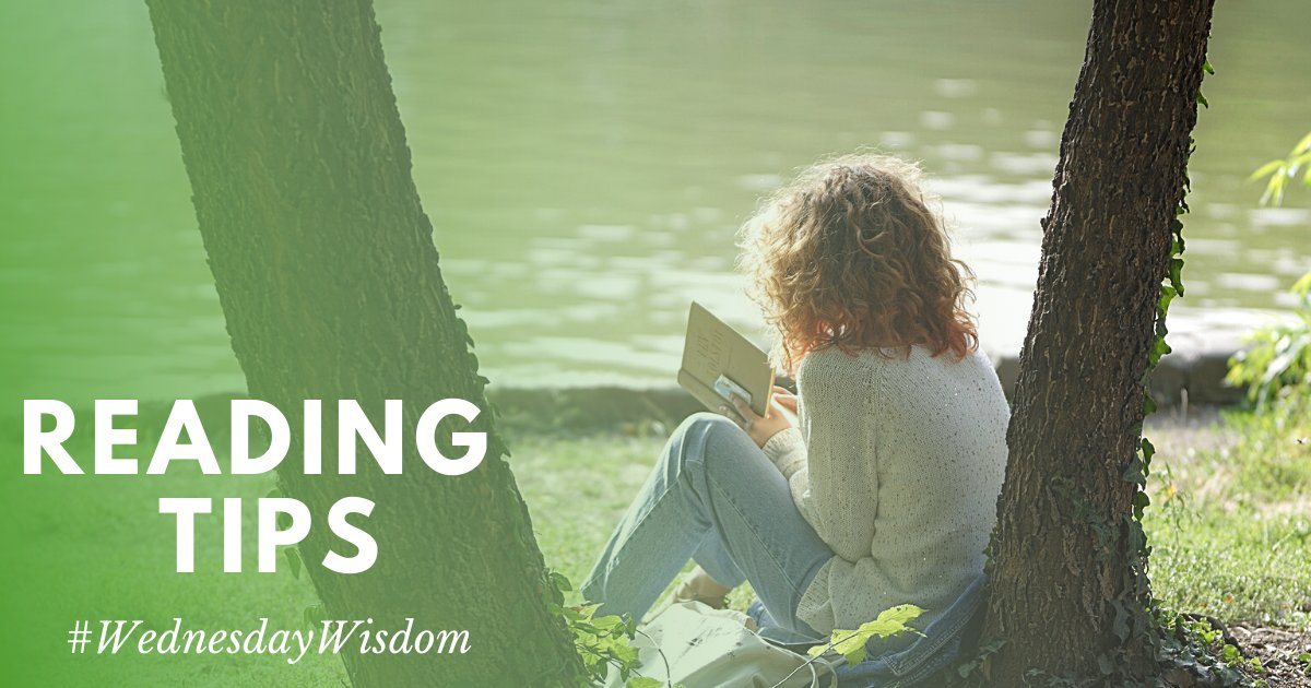 What are some things that help you read more, or get more enjoyment from reading? We want to hear your advice! 📚 💬  #WednesdayWisdom #BookLove #Reading #CADL #LibrariesTransform  #ReadingTips