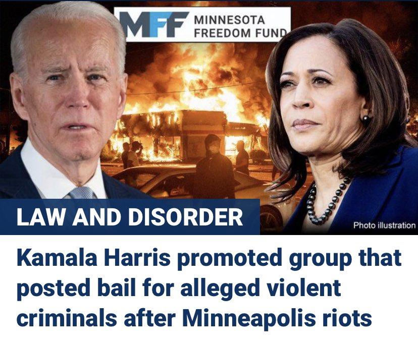 Joe Biden's VP pick Kamala Harris promoted group that put up bail for alleged violent criminals