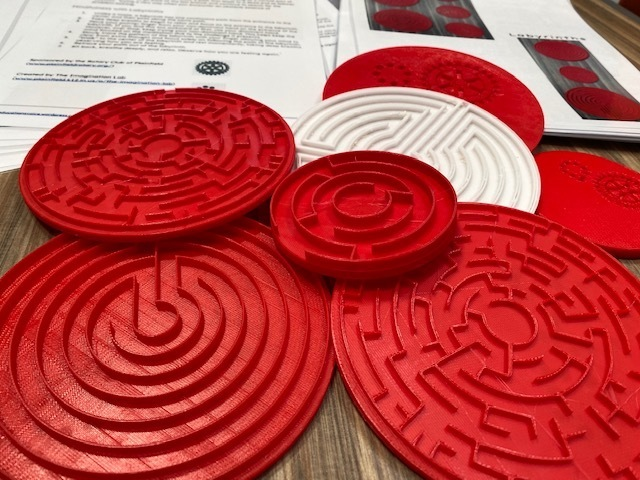 Mindfulness with Labyrinths and Mazes