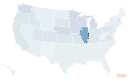 Illinois' #census response is lagging behind the national average and four counties standout with the lowest response in the state. From @FarmWeekNow: