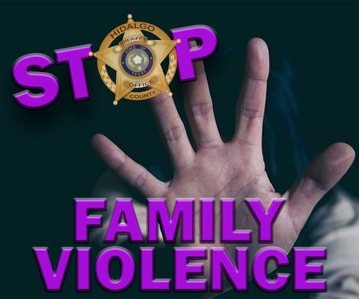 RT @HidalgoCountySO:   No person should be a victim of family violence.  #myHCSO