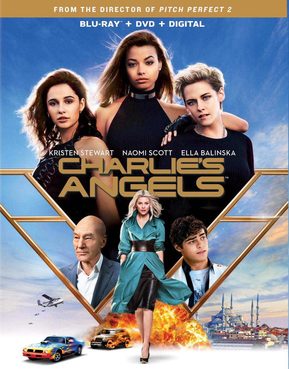 Jody from Turner recommends Charlie's Angels starring Kristen Stewart, Naomi Scott and Ella Balinska. This is a fun action packed movie. It will keep you guessing on who the bad guy is.