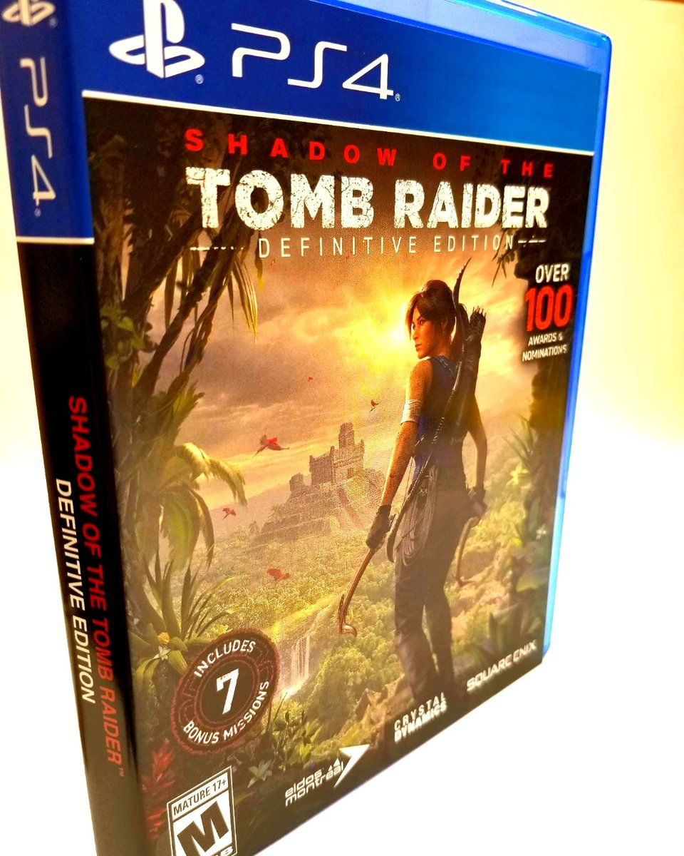 #ShadowOfTheTombRaider was just added to our collection! Put your copy on hold at our website.   #SolanoLibrary #PublicLibrary #SolanoCountyLibrary #SolanoCounty #iLoveMyLibrary #LibrariesOfInstagram