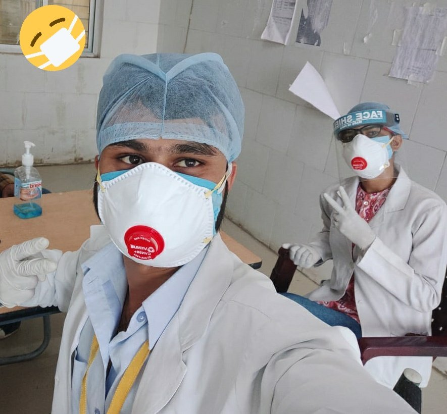 Masked face should also be considered as half face😄 #protection #MaskUp #WearADamnMask #HalfFaceTwitter