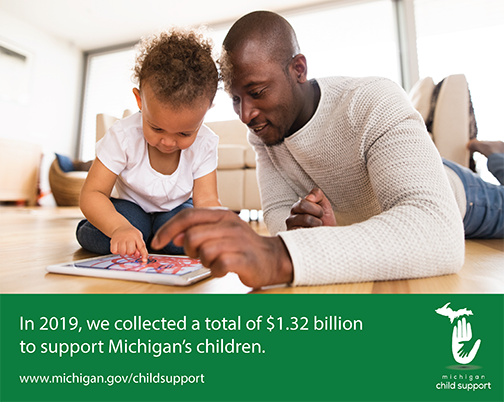 In recognition of tireless efforts to support Michigan children and families by child support workers, employers, state and county departments, hospitals and community partners, @GovWhitmer has declared August as Child Support Month in Michigan.