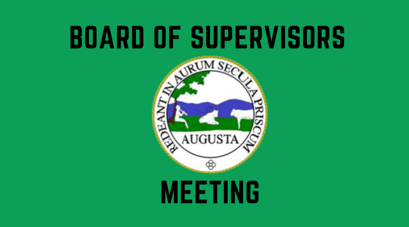 Join us for the next Board of Supervisors meeting, tonight, Aug 8, 7pm - in person and via Facebook Live.