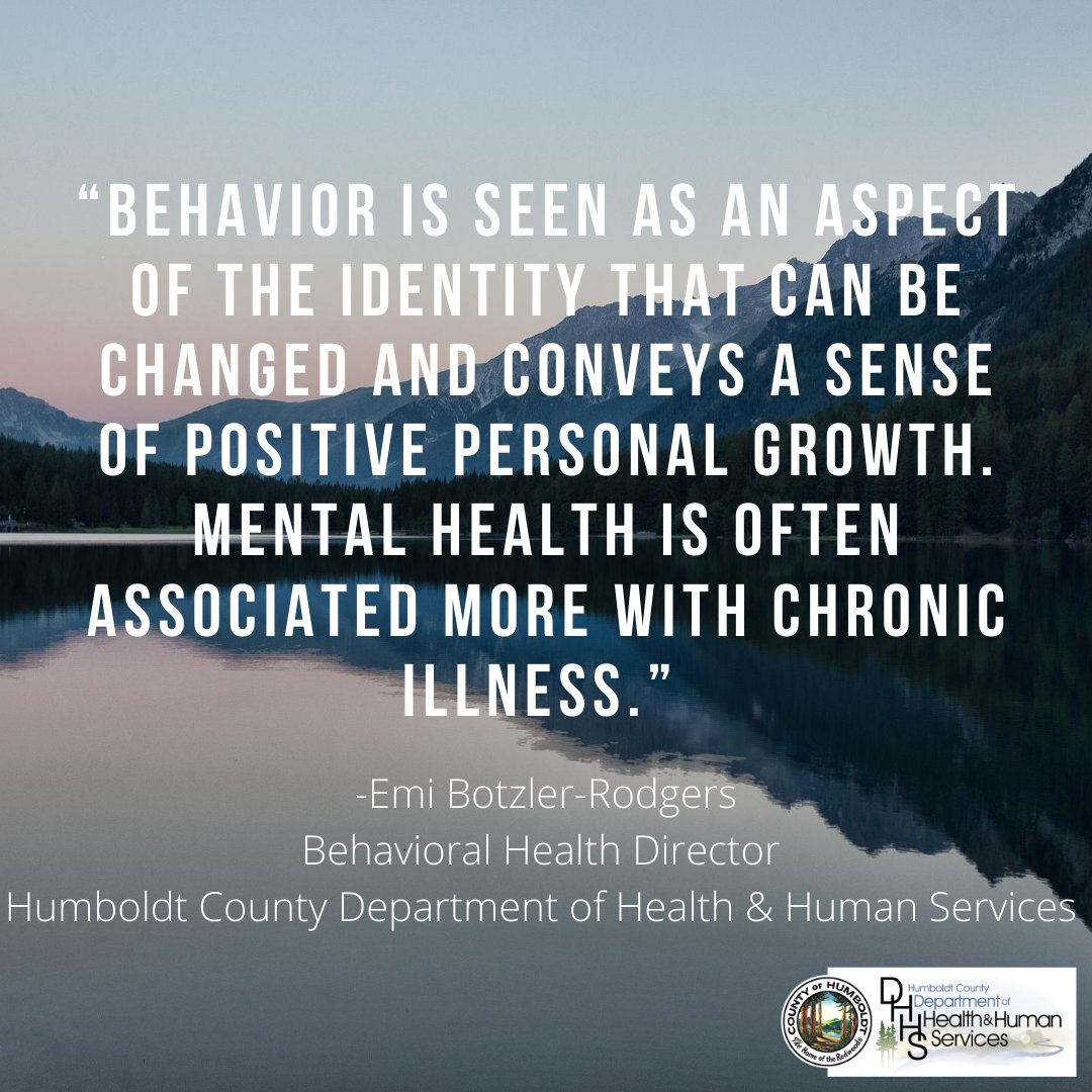 Earlier this year, the Mental Health Branch of DHHS changed its name to Behavioral Health to better represent its mental health and substance use treatment services.   To learn more about DHHS's Behavioral Health Branch, visit .