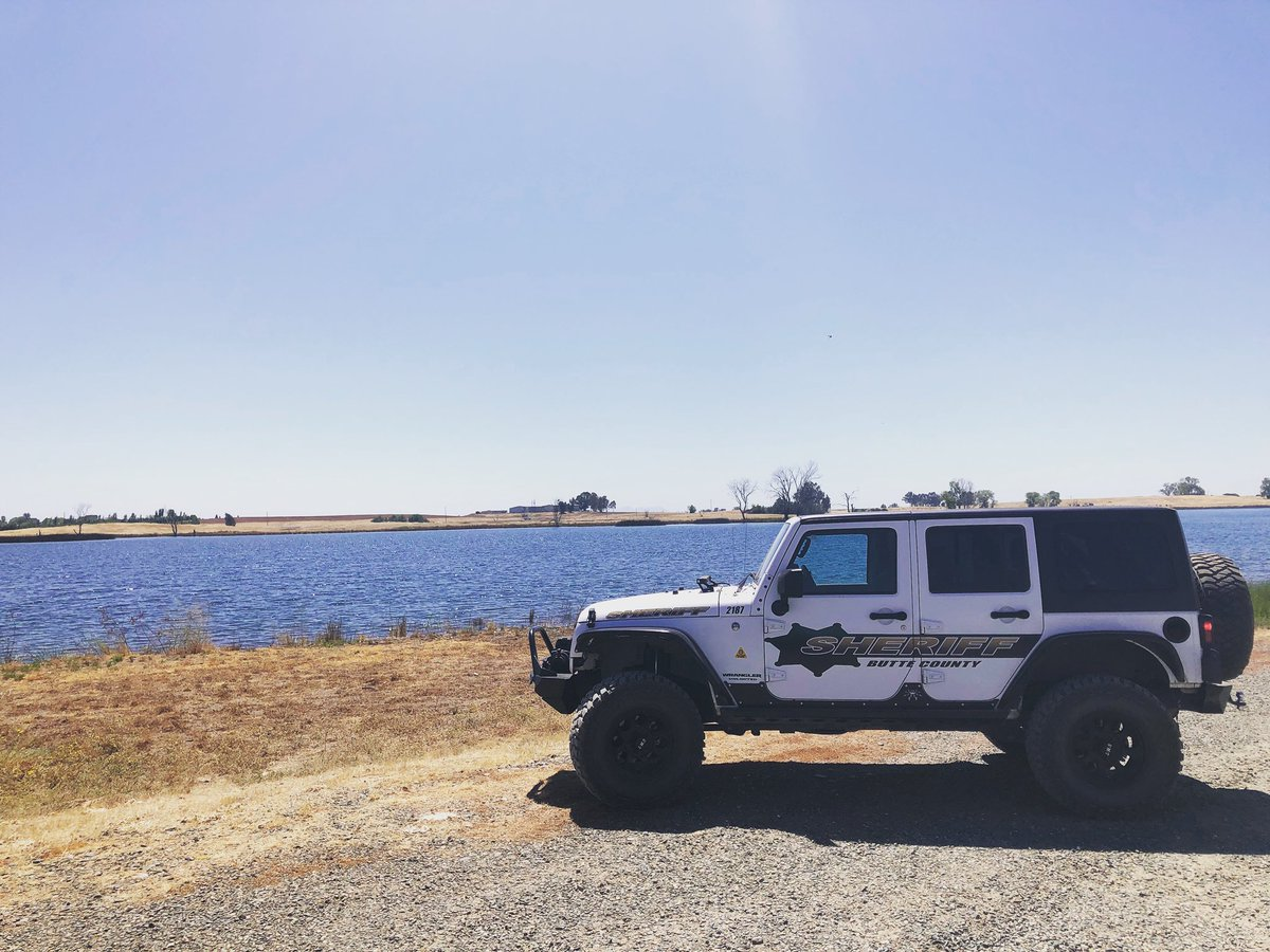 It's a beautiful day at the Afterbay!  #ButteSheriff