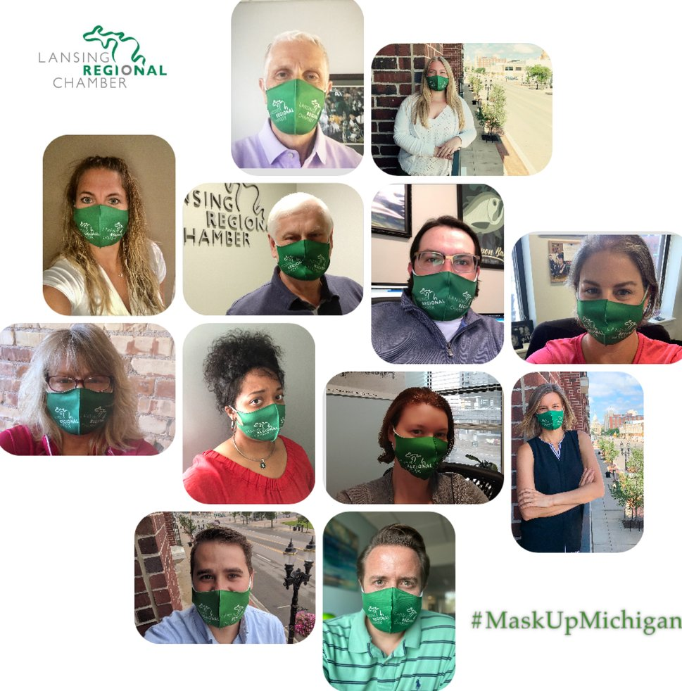 It's World Mask Week! This observance promotes wearing face masks as one of the best tools to fight the pandemic! 😷  Have you taken the #MaskUpMichigan challenge yet? It's simple & easy to join us!  Take the @DetroitChamber's #MaskUpMichigan Pledge here: