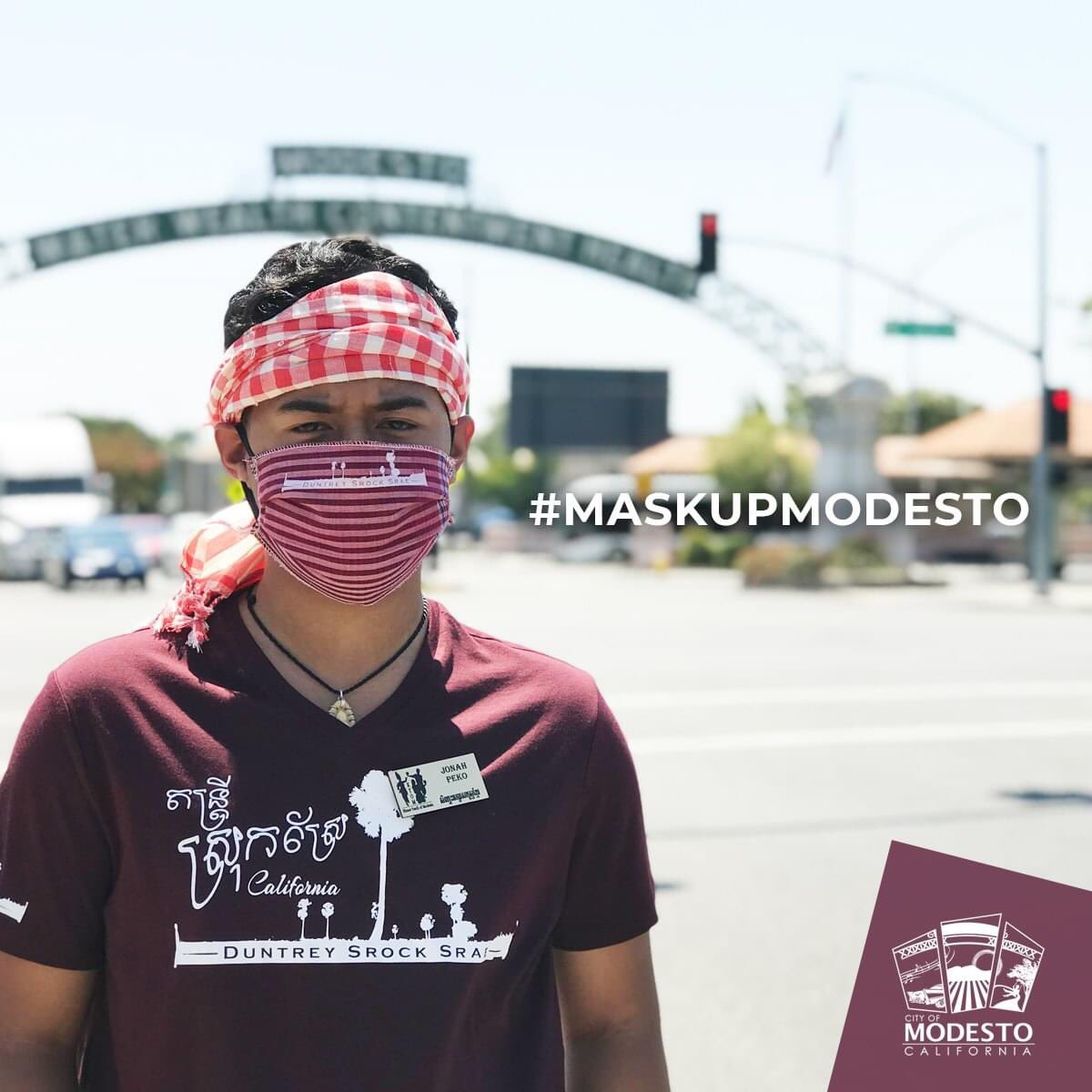 Even without symptoms, you could expose others to COVID-19. Wear a mask and practice physical distancing to help slow the spread and protect your loved ones. Mask up Modesto we got this! #MaskUpModesto #SlowTheSpread #WearAMaskSaveALife #YourActionsSaveLives #ModestoStrong