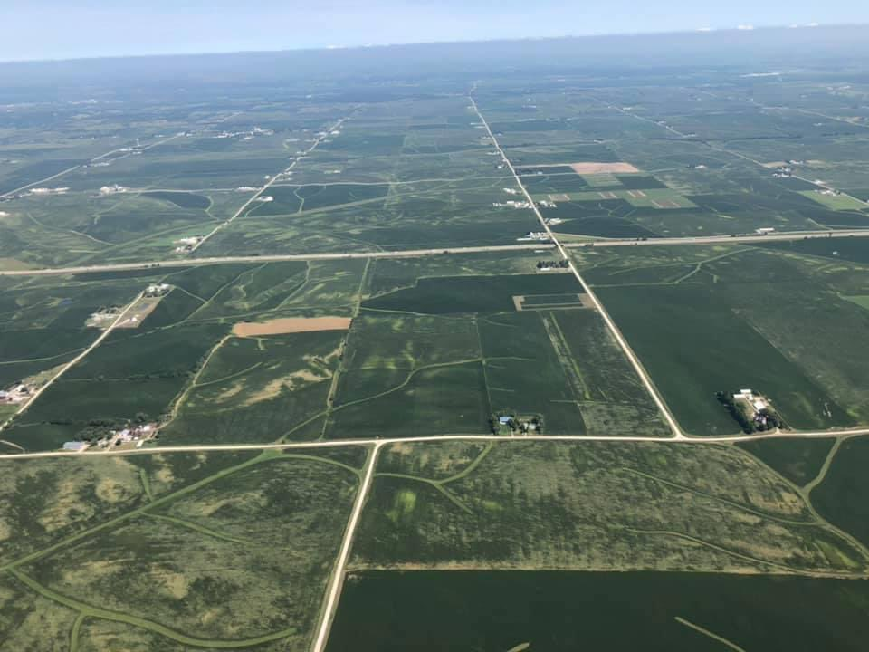 RT @KimReynoldsIA: On my way to Davenport to view storm damage. Crop damage significant and wide spread.