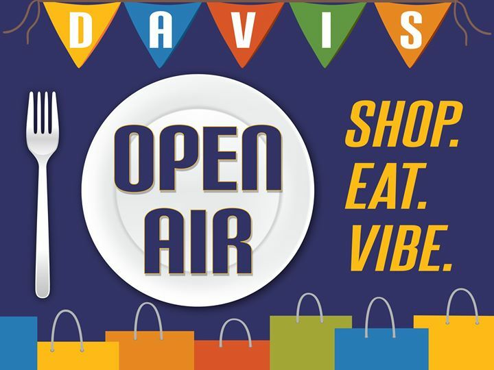 Downtown Davis restaurants, retailers and professional service providers offer safe fresh open air environments for their patrons to SHOP EAT & VIBE. Click the link for a complete list of participating locations: