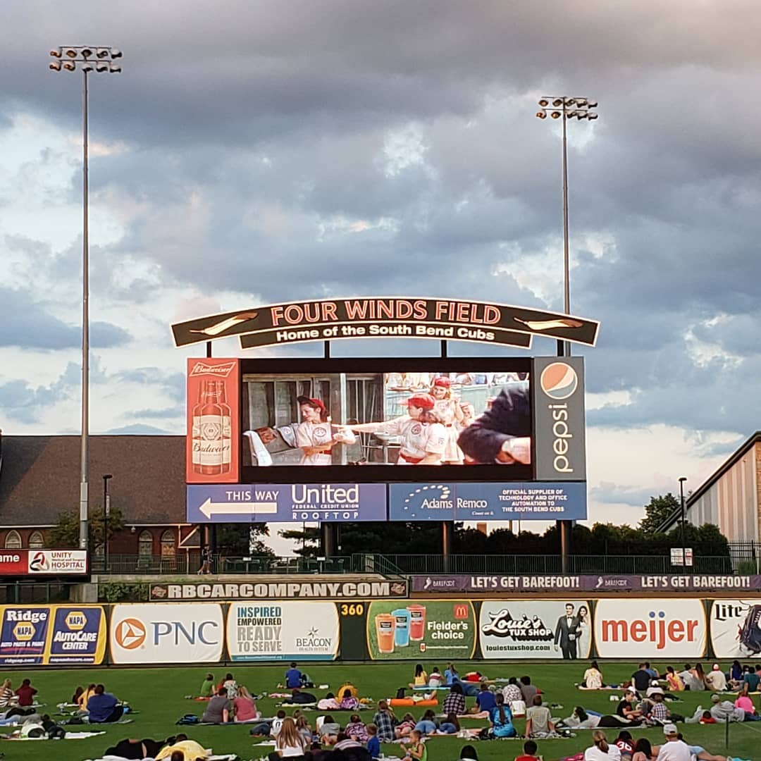 It's movie night at Four Winds Field on Friday!🎬  What else is going on this weekend in The Bend? We have some answers.  ➡️    #OnlyinTheBend