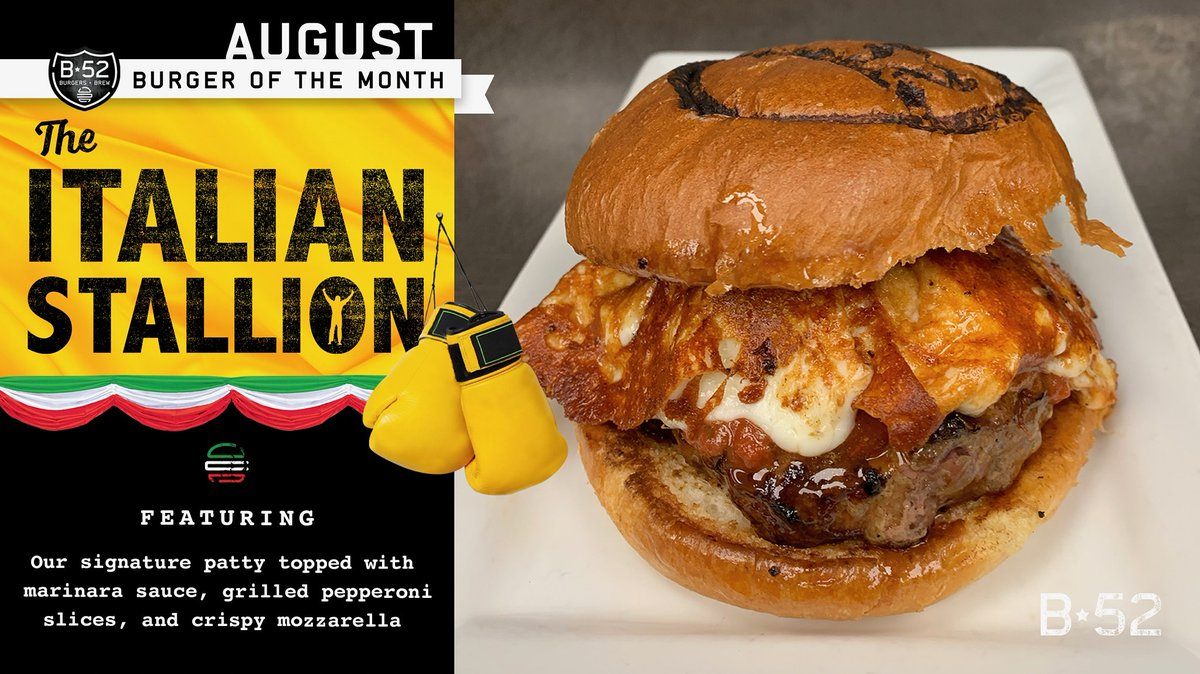 RT @B52Burgers_Brew: August #burgerofthemonth