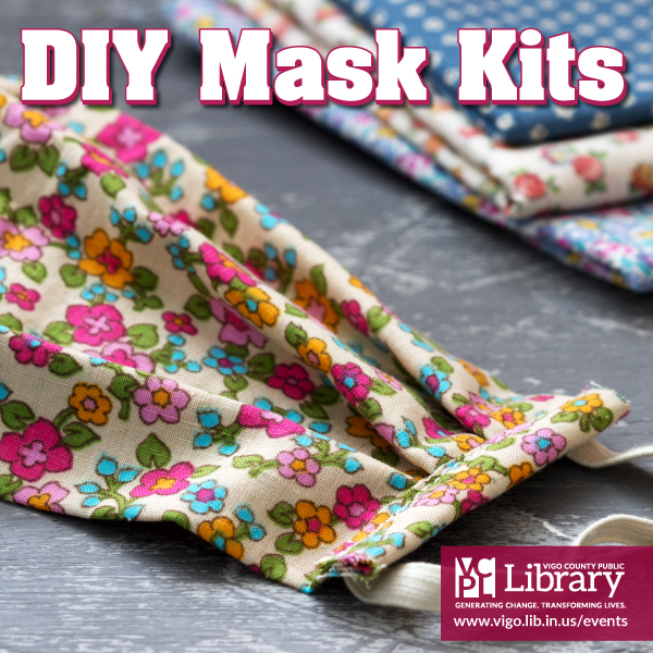 Make your own reusable mask—𝐧𝐨 𝐬𝐞𝐰𝐢𝐧𝐠 𝐦𝐚𝐜𝐡𝐢𝐧𝐞 𝐫𝐞𝐪𝐮𝐢𝐫𝐞𝐝—with an easy video tutorial! 😷 All kits have been claimed, but this program will be available to all this Friday at 3:00 p.m. 💻😊💻