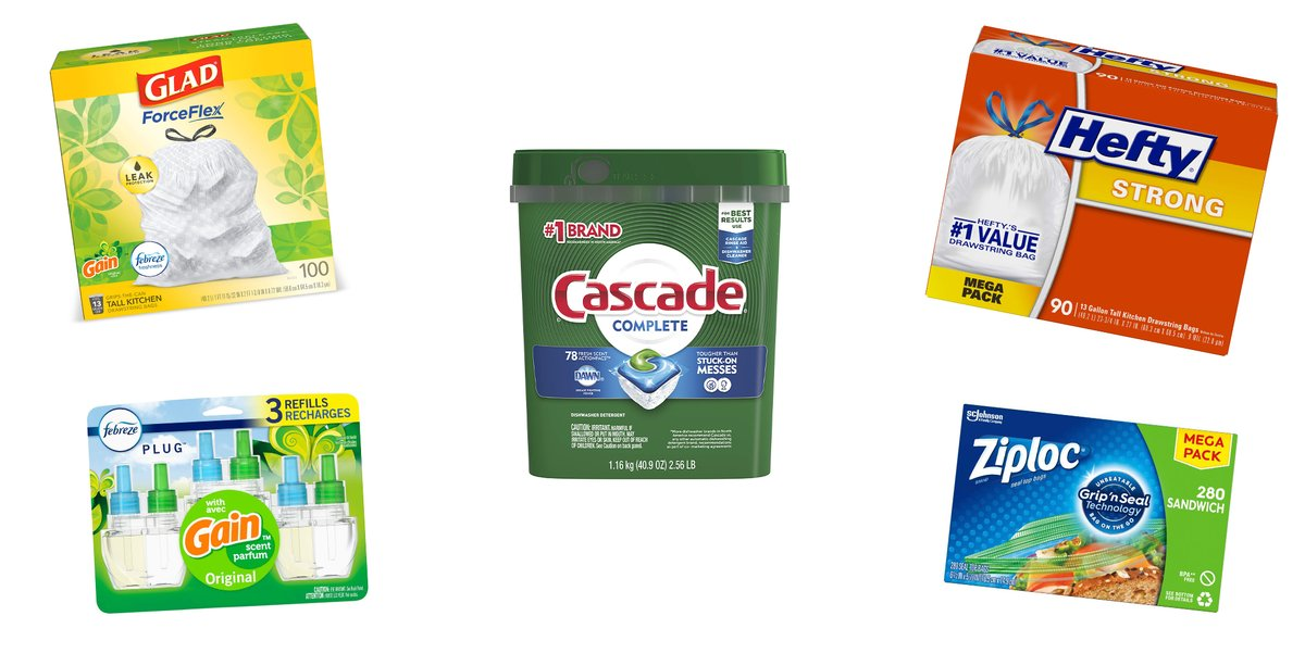 Fill up that @amazon cart! $10 off $40 select household goods: