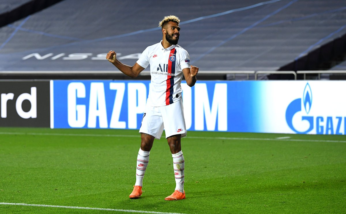 Choupo-Moting scores his second goal in the UCL and first since 2014! 🥳  #UCL