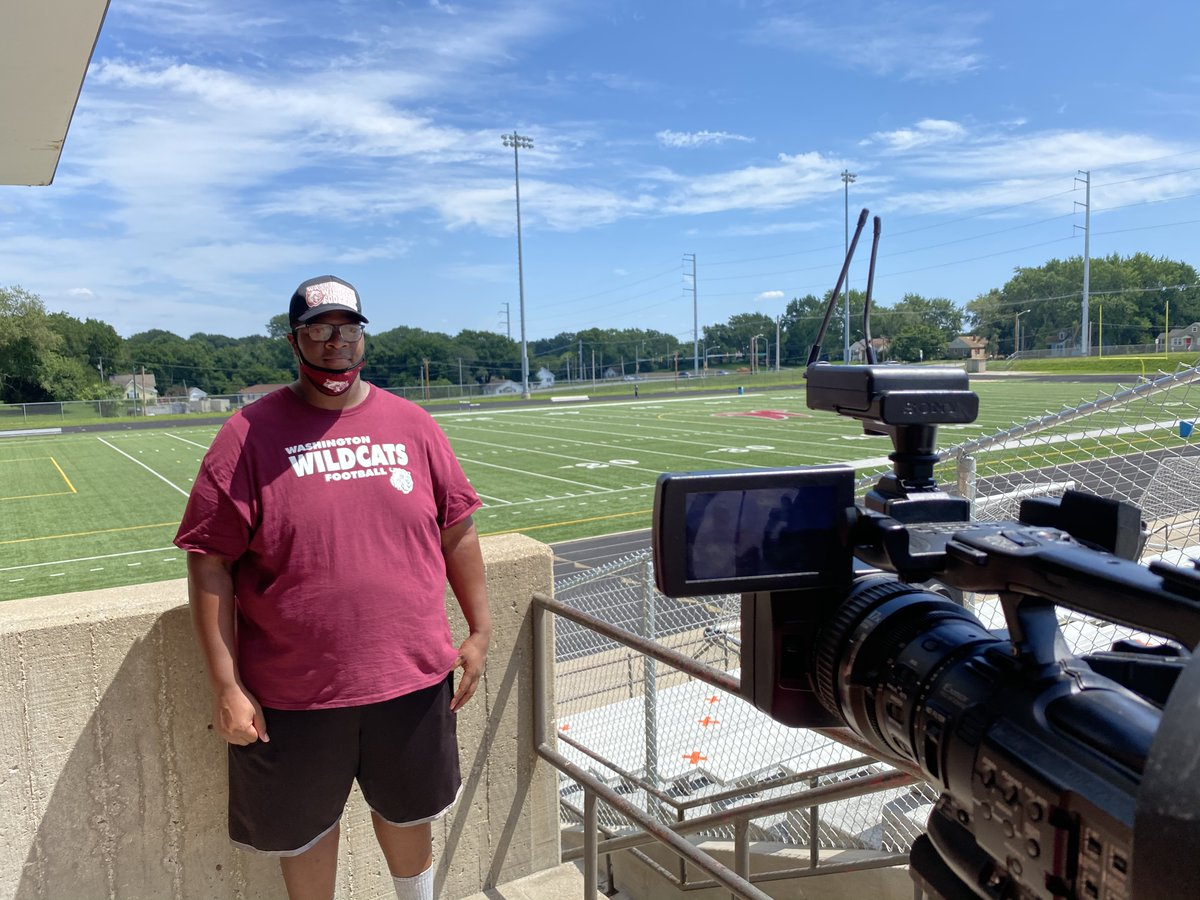 Tune into @fox4kc tonight as @wash_kc  Coach Cam Smith discusses the recent decision to suspend fall sports.
