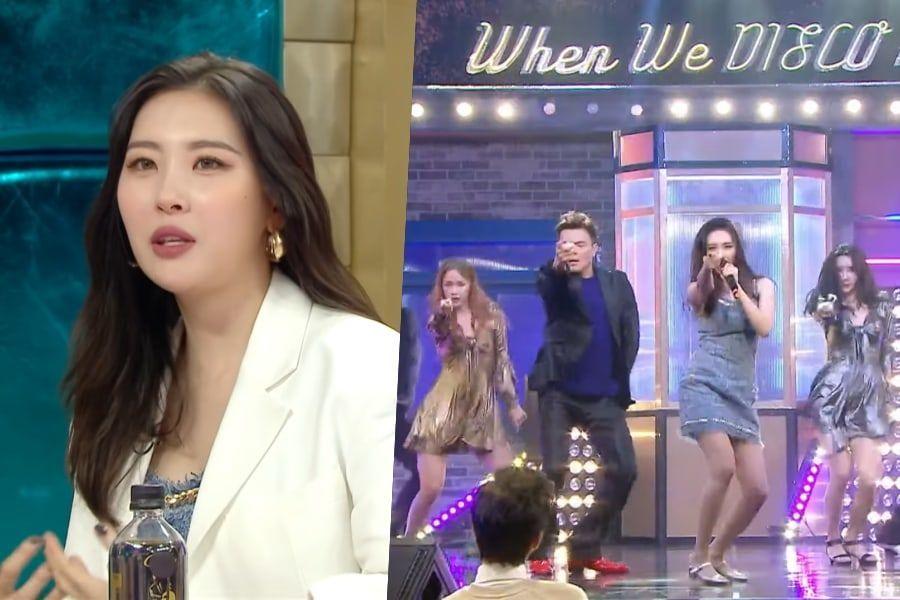 """#Sunmi habla sobre escribir una canción para #TWICE, la historia detrás del dúo con #ParkJinYoung y más + Ellos cantan """"When We Disco"""" por primera vez"""