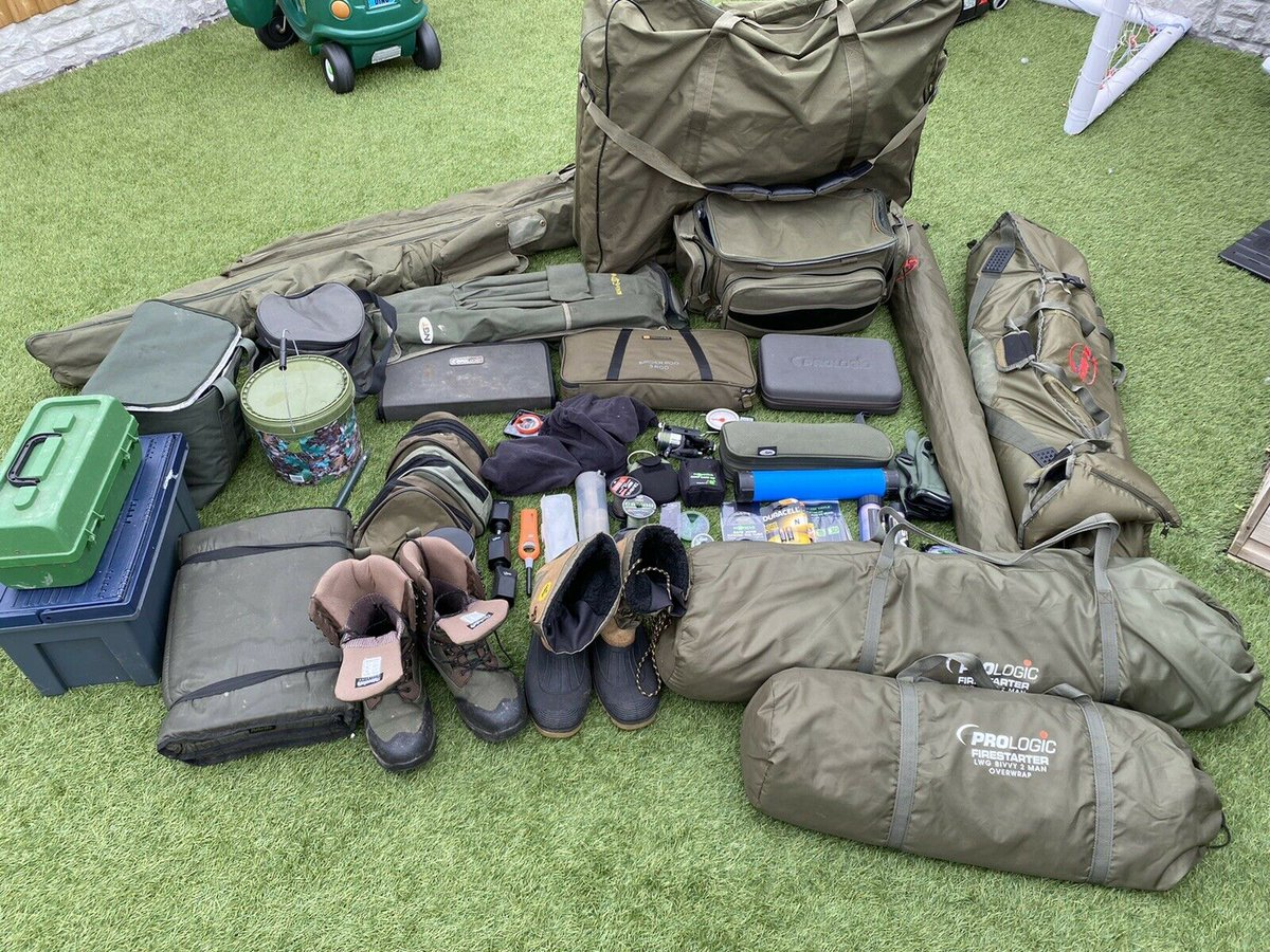 Ad - Complete Carp Fishing Setup For Sale On eBay here -->> https://t.co/IUcptE7cLL  #carp<b>F
