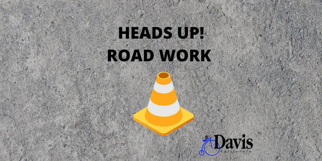 Fifth St. between Pole Line Rd. and Cantrill Dr. will be reduced to a single lane in both directions tomorrow, Aug. 13,  for pavement work on the eastbound travel lanes. All traffic will be shifted to the north side of the street.