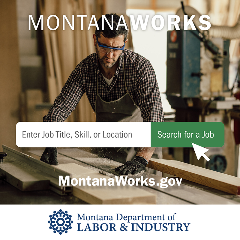 Visit  to discover opportunities for Montana businesses and workers. #MTWorks #TeamMT