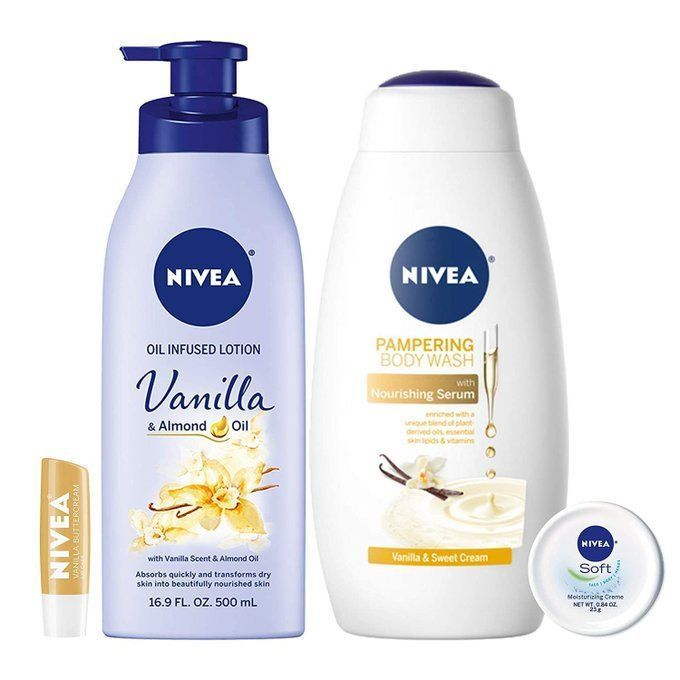 STEAL!!  NIVEA 4 Piece Lotion and Body Wash Bundle for $10, over 30% off!