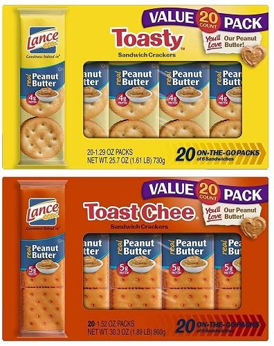 40ct. Lance Sandwich Crackers $8.24