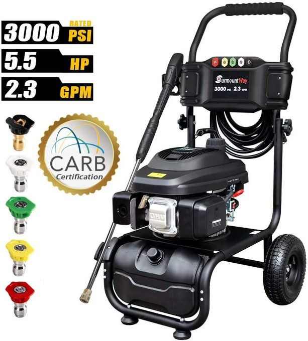 3000PSI Gas Pressure Washer for $194.95, retail $389.90!  Use promo code; 50WQNWYV
