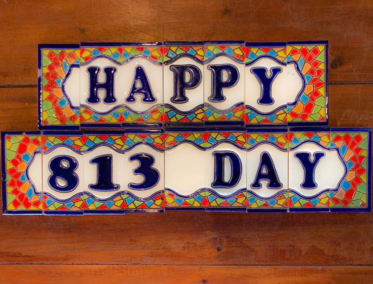 RT @Columbia1905: Now, everybody from the 813/ Put your Ybor City hands up and follow me!  #813Day
