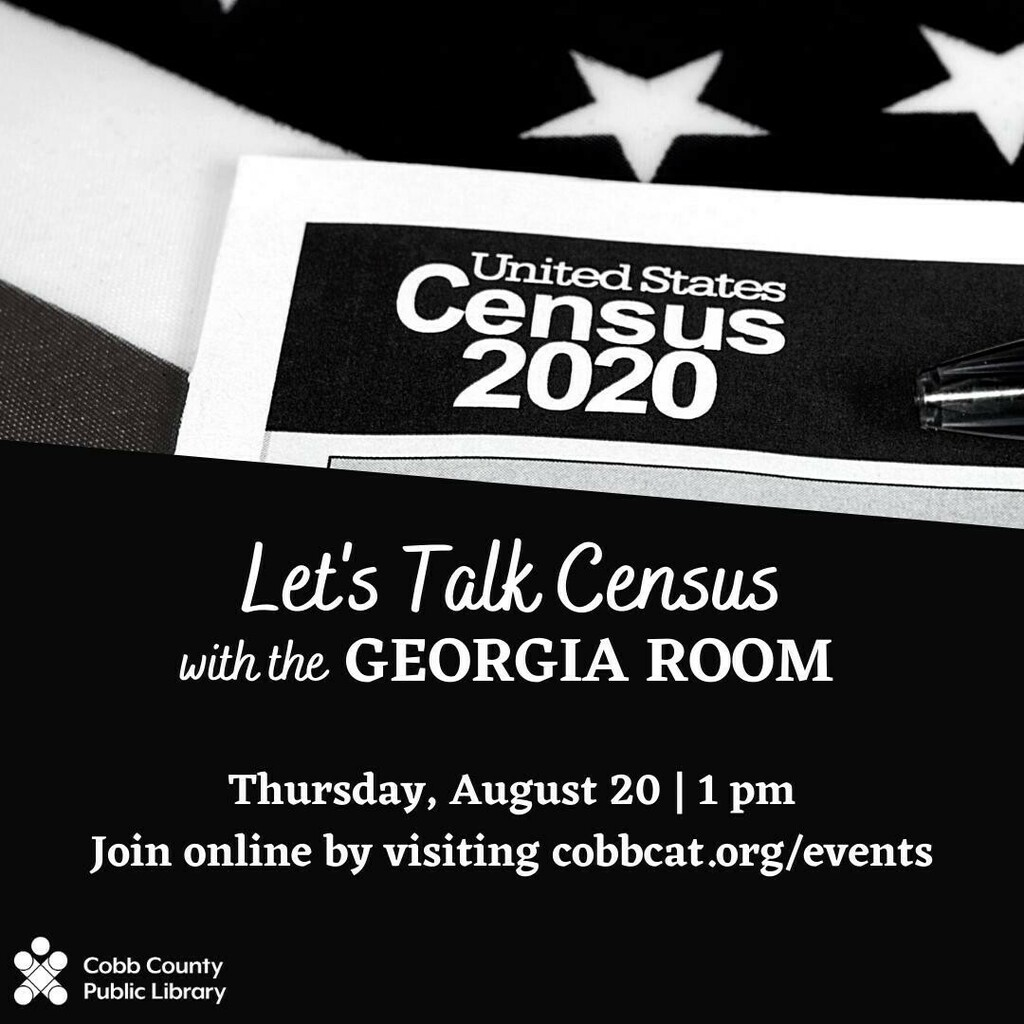 Join our #GeorgiaRoom virtually for Let's Talk Census. We will be talk about the federal census in the United States from its beginnings to now. The census is an important tool for genealogists, historians, and more! We'll be reviewing tips and tricks to…