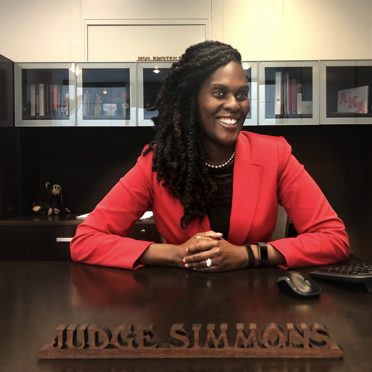 Our kind of people work toward their dreams. Lansing resident Judge Kristen Simmons dreamed of being a Supreme Court justice since childhood – and today, she serves as a judge for the 5A District Court. #MKOP #MyKindOfPeople