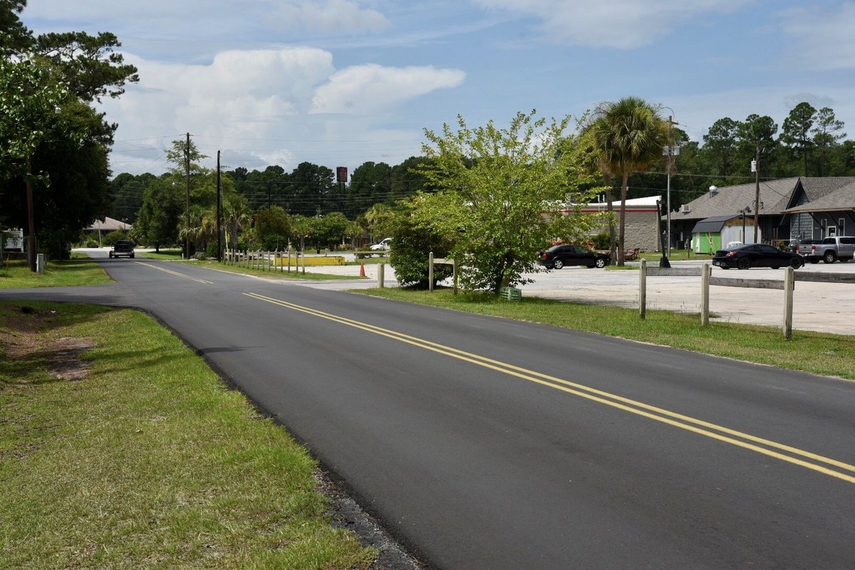 In Jasper County, Ulman Street was recently repaved thanks to funding from the new gas tax, which supports SCDOT's Strategic 10-Year Plan to improve our roads and bridges.  To see all of our active projects please visit us on the web: