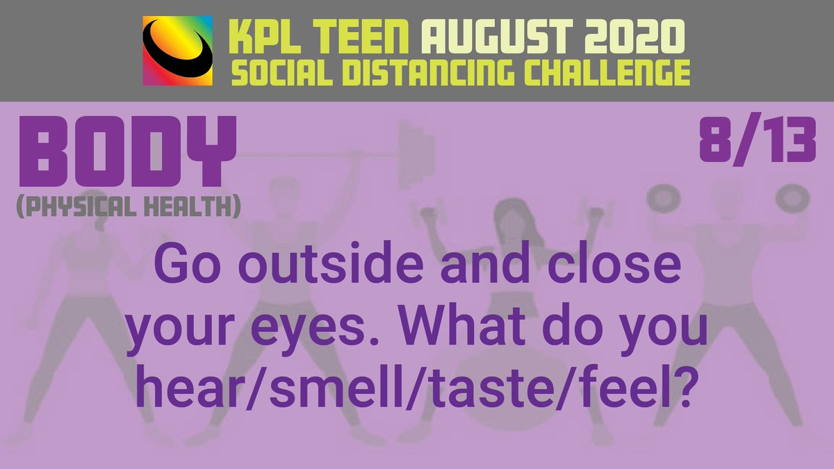 Are you a teenager? Are you bored with doing the same thing every day? Take the Teen Social Distancing Challenge. Each day has a different challenge! #kplteen