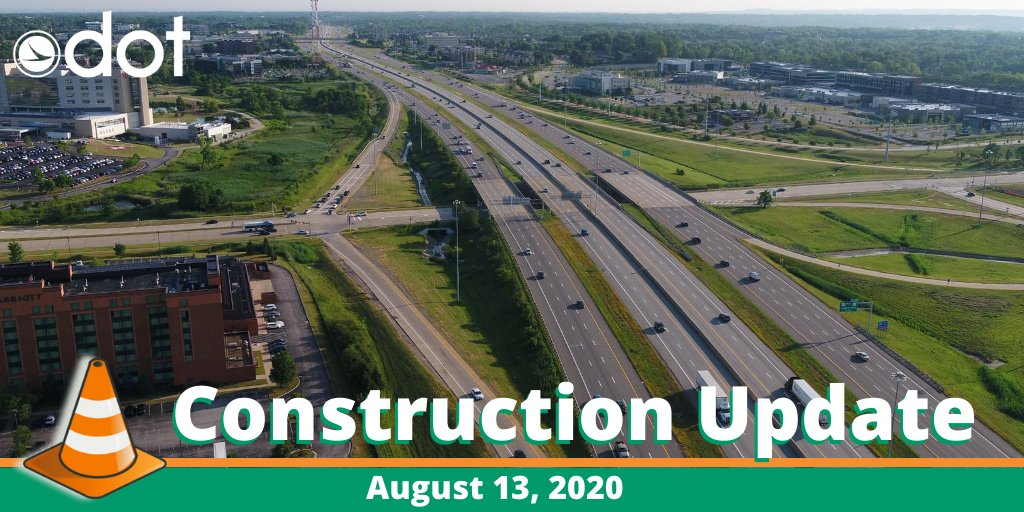 ODOT District 12 Construction Update for August 13.  ✅ Multiple weekend lane restrictions on I-271.  ✅ Broadway Ave. closure begins Monday.  Learn more about all the D12 projects going on at: