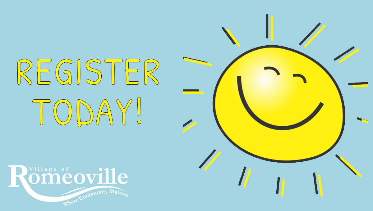 Tomorrow is the last day to register for the final week of Fun in the Sun Day Camp! Don't let summer slip away--Register TODAY! The Rec Center is taking online and in-person registration.  Visit  to register and use keyword: CAMP. #JoinTheFun #FunInTheSun