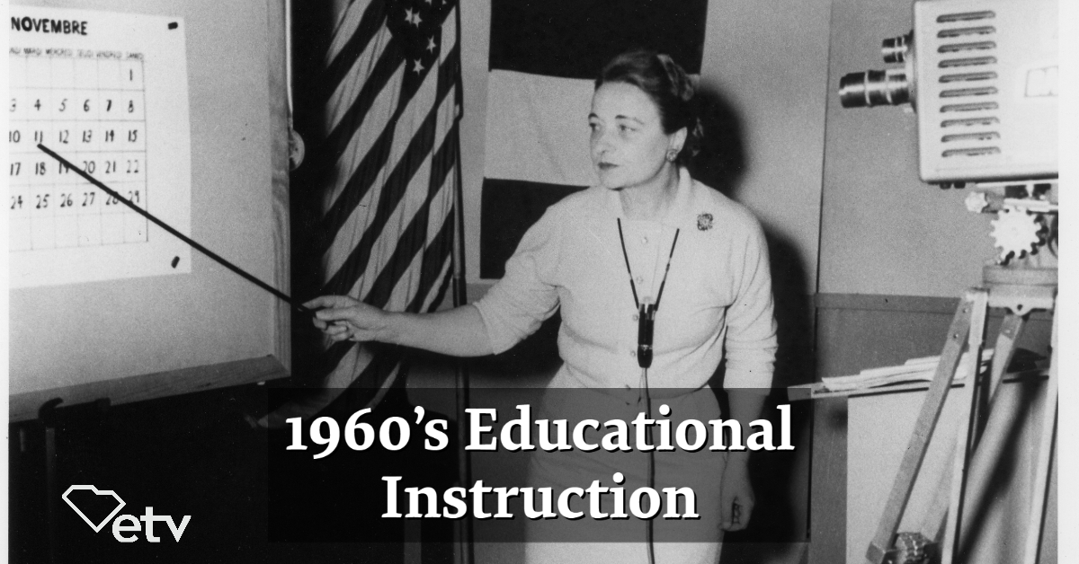 #TBT: #SCETV airing educational instruction in 1960's.