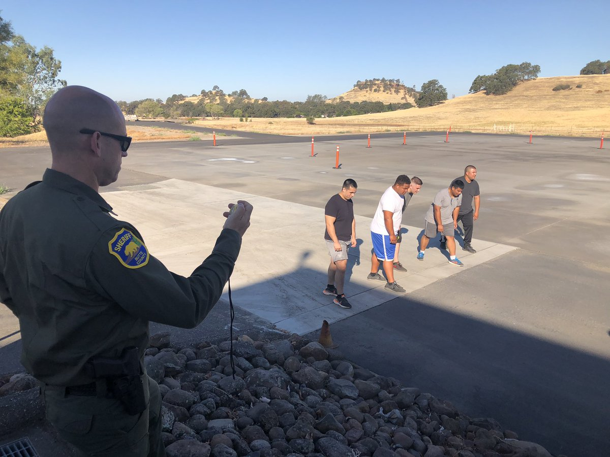 It's a great morning for some PT! The physical agility test is one step in the process of getting hired as a deputy sheriff. If you're interested in a rewarding career with BCSO, please visit .  #ButteSheriff